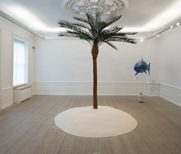 Mikkel Carl, No Woman Is an Island, installation, 2015