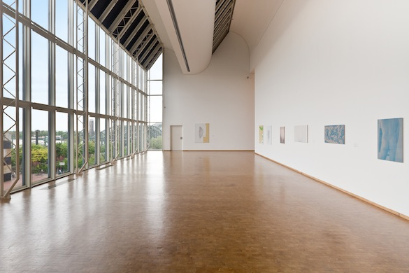 Vue de l'exposition / Exhibition view : Michael Krebber, R. H. Quaytman, Wolfgang Hahn Prize 2015, Museum Ludwig, Cologne. Photo : Rheinisches Bildarchiv / Britta Schlier.