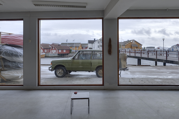 Emilie Pitoiset, You will see the cat before you leave, 2014-15. Photo: LIAF / Jon Benjamin Tallerås