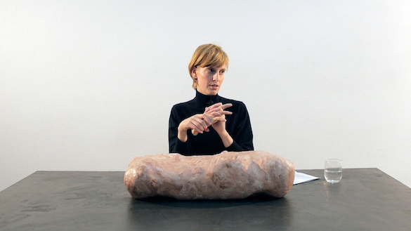 Hedwig Houben, The Hand, the Eye and It, 2013. Performance; video 20'. Video still. Courtesy Galerie Fons Welters, Amsterdam.