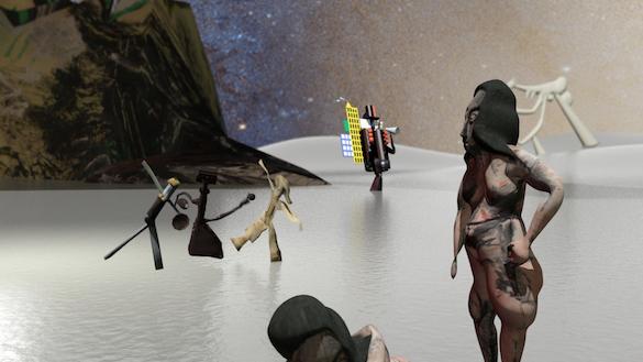 The Averty Show  Bertrand Dezoteux, Picasso Land, animation 10mn, 2015. Chorégraphie : Yaïr Barelli