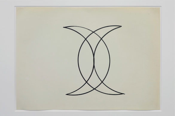 Guy de Cointet, Sans Titre (Signature de Mahomet), ca 1971. Courtesy Centre Pompidou, Paris Musée national d'art moderne / Centre de création industrielle Photo : Isabelle Arthuis